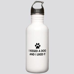 I kissed a dog and I liked it Stainless Water Bott