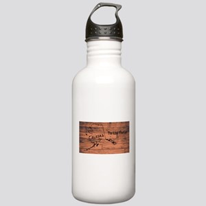 Alaska Map Brand Stainless Water Bottle 1.0L