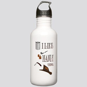 I like manly things Stainless Water Bottle 1.0L