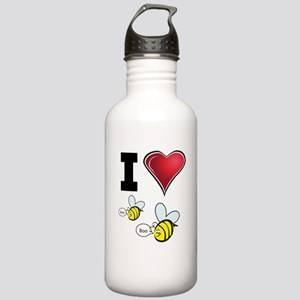 I Love Boo Bees Stainless Water Bottle 1.0L