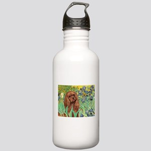 Irises & Ruby Cavalier Stainless Water Bottle 1.0L