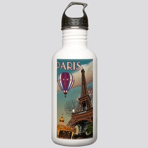 Paris - Carrousel and  Stainless Water Bottle 1.0L