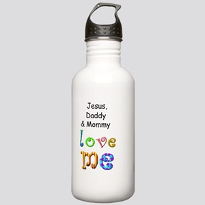 Jesus Daddy and Mommy  Stainless Water Bottle 1.0L