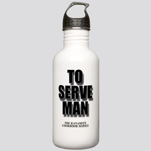 To serve Man Stainless Water Bottle 1.0L