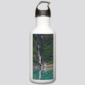 Glacier Waterfall Stainless Water Bottle 1.0L