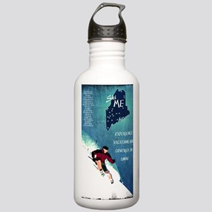 Vintage Ski ME Poster Stainless Water Bottle 1.0L