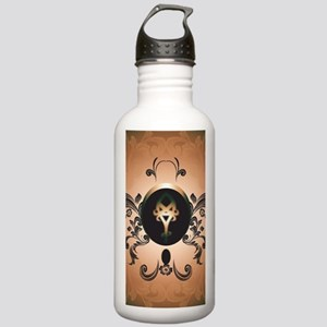 Insight, foresight rune Water Bottle