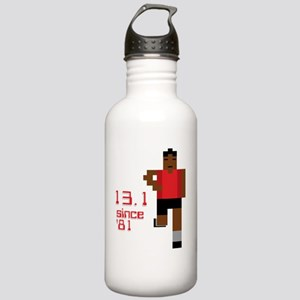 13-1-80s-runnerB-3 Stainless Water Bottle 1.0L