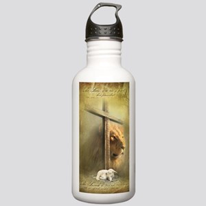 The Lion and the Lamb Stainless Water Bottle 1.0L
