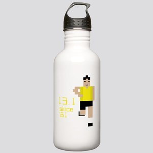 13-1-80s-runner-3 Stainless Water Bottle 1.0L