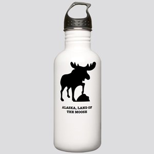 Land of the Moose Stainless Water Bottle 1.0L