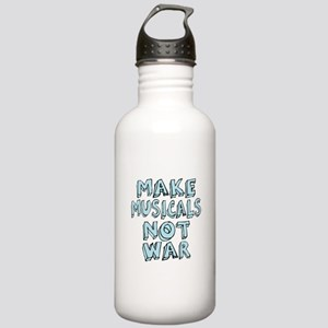 Make Musicals Not War Stainless Water Bottle 1.0L
