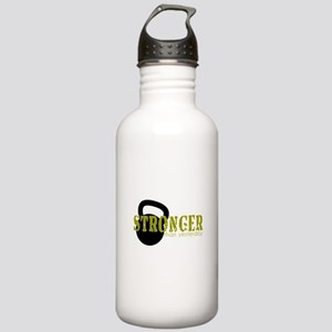 Stronger than Yesterday Water Bottle