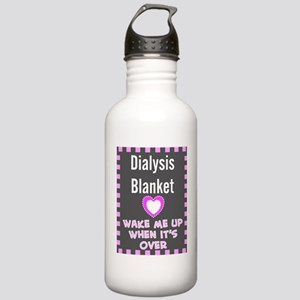 dialysis pt blanket Stainless Water Bottle 1.0L