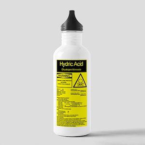 ff5d7cfb4a Dihydrogen Monoxide. Hydric Acid Stainless Water Bottle 1.0L