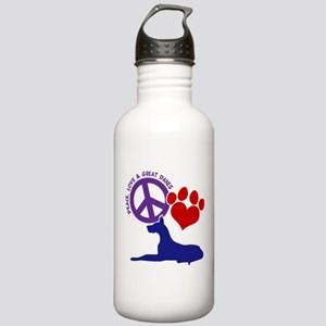 P,L, GREAT DANES Stainless Water Bottle 1.0L