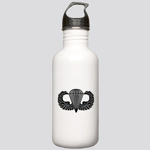 Parachutist -- B-W Stainless Water Bottle 1.0L