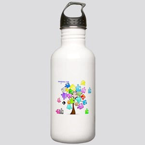 Family Tree Jigsaw Stainless Water Bottle 1.0L