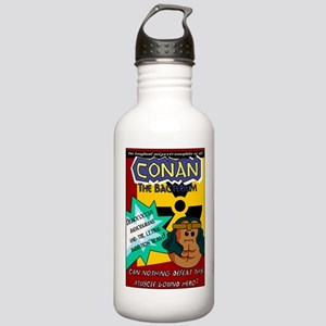 Conan the Bacterium Stainless Water Bottle 1.0L