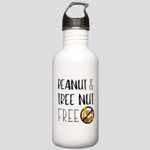 Peanut and Tree Nut Fr Stainless Water Bottle 1.0L
