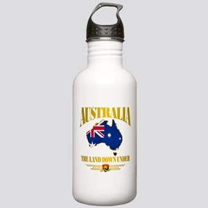 """Land Down Under"" Stainless Water Bottle 1.0L"
