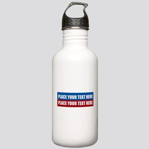 America Text Message Stainless Water Bottle 1.0L