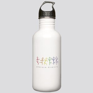 dancing rainbow Stainless Water Bottle 1.0L