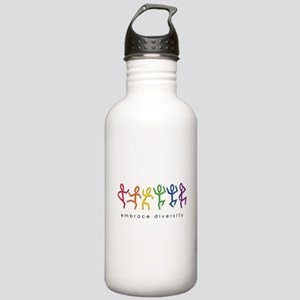 gay pride dance Stainless Water Bottle 1.0L
