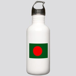 Bangladesh Flag Stainless Water Bottle 1.0L