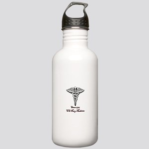 US Navy Medicine Stainless Water Bottle 1.0L