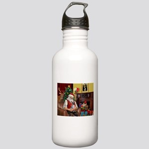 Santa Claus & His AHT Stainless Water Bottle 1.0L