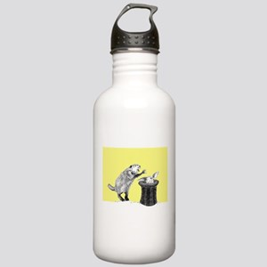 Yellow beaver and rabbit Water Bottle