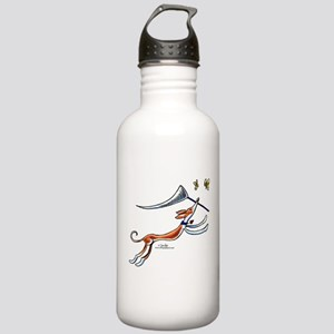 Ibzian Hound Butterflies Stainless Water Bottle 1.