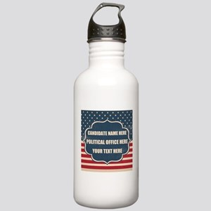 Personalized USA Presi Stainless Water Bottle 1.0L