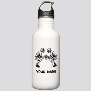 Lacrosse Faceoff Water Bottle