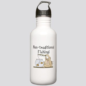 Non-Traditional Fishing Stainless Water Bottle 1.0