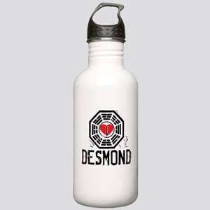 I Heart Desmond - LOST Stainless Water Bottle 1.0L