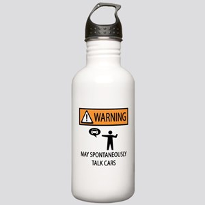 Car Talk Warning Stainless Water Bottle 1.0L