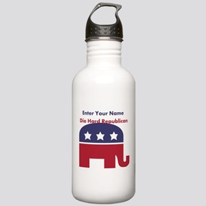 Personalize Die Hard Republican Stainless Water Bo
