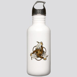 Odin's Triple Horns Stainless Water Bottle 1.0L