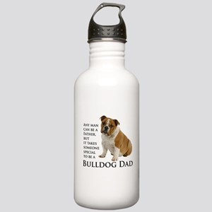Bulldog Dad Water Bottle