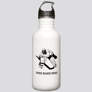 Hockey Goalie Water Bottles Cafepress