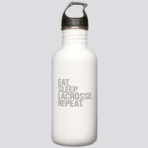 Eat Sleep Lacrosse Repeat Water Bottle