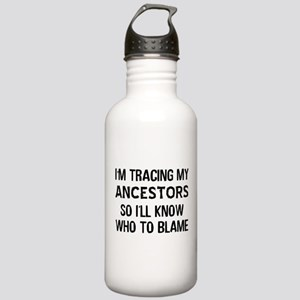 Funny Genealogy Stainless Water Bottle 1.0L