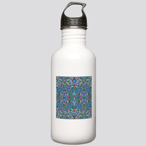 Colorful Abstract Psyc Stainless Water Bottle 1.0L