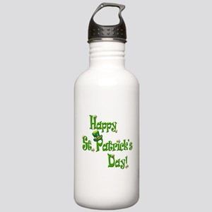 Happy St. Patricks Day Stainless Water Bottle 1.0L