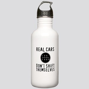 Real Cars Don't Sh Stainless Water Bottle 1.0L