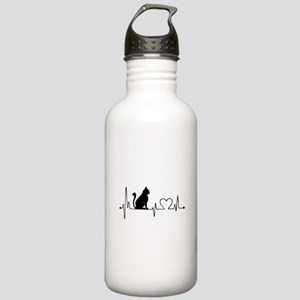 Cat HB Stainless Water Bottle 1.0L