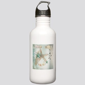 Summer Sea Treasures Beach Water Bottle