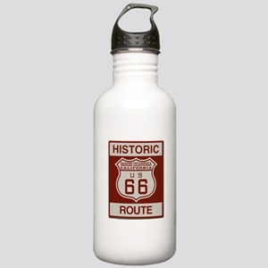 Rancho Cucamonga Route 66 Stainless Water Bottle 1